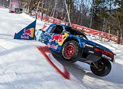 Bryce Menzies won the final round of the 2016 Red Bull Frozen Rush over Ricky Johnson
