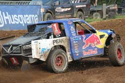 Bryce Menzies leads in the Pro 2 class of the Traxxes TORC series, and has aspirations of taking the title