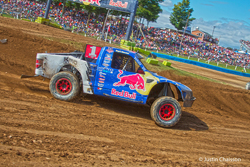 When the race at Crandon was behind him, Bryce Menzies had a 41 point lead in the points race as the season's end neared