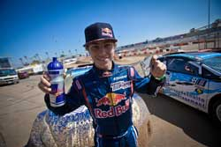 Mitchell DeJong made history with his X Games Silver Medal, becoming the youngest driver ever to reach the GRC podium