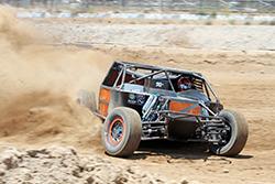 Bradley Morris #24 truck at Wild Horse Motorsports Park in Arizona