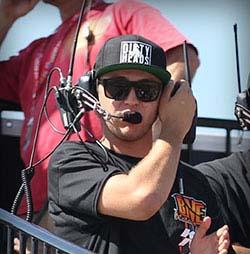 Bradley Morris spots Curt LeDuc at Wild Horse Motorsports Park in Arizona