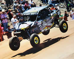 The 2015 Bud Light SCORE Baja 500 became a sprint to the finish line for Murray Racing