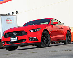 2015 Ford Mustang GT is powered by the 5.0-liter, 302 cubic inch, Coyote motor