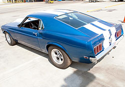 The 1969 model year saw the introduction of the Mustang Mach 1