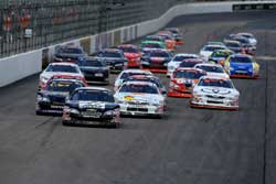 NASCAR K&N Pro Series East Race North American Power 100 Delivers Side by Side Racing at New Hampshire Motor Speedway
