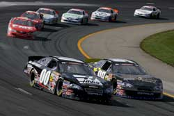 The NASCAR K&N Pro Series East Race Started Off with Cole Custer & Dylan Kwasniewski Racing Side By Side