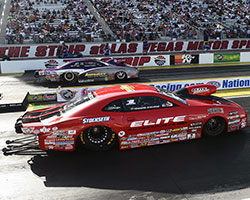 The final round was close with Enders-Stevens leaving first in the K&N Horsepower Challenge