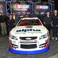 2015 NASCAR K&N Pro Series car body revealed at the 2014 SEMA Show in Las Vegas