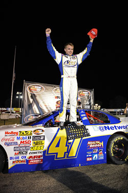 NASCAR K&N Pro Series East Win for Cale Conley.
