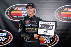Dylan Kwasniewski claims 21 Means 21 Pole Award at Colorado