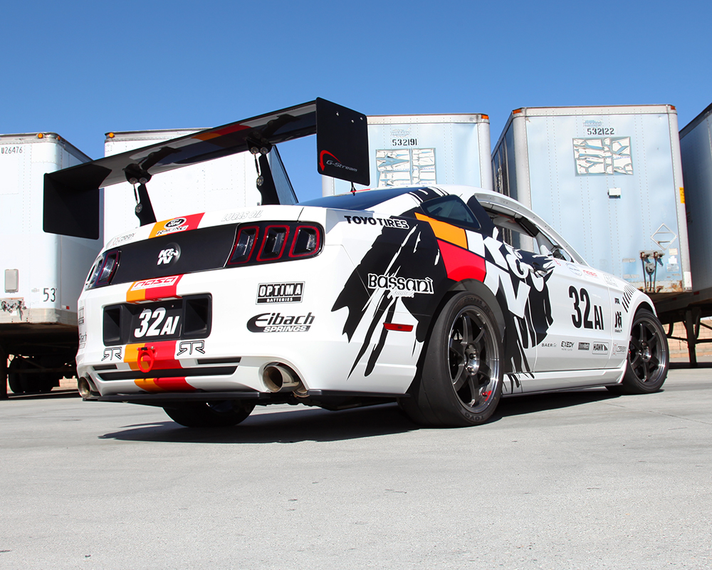 Mustang Ford Racing >> K&N Ford Racing Mustang RTR Practice Before NASA American Iron Laguna Seca Race