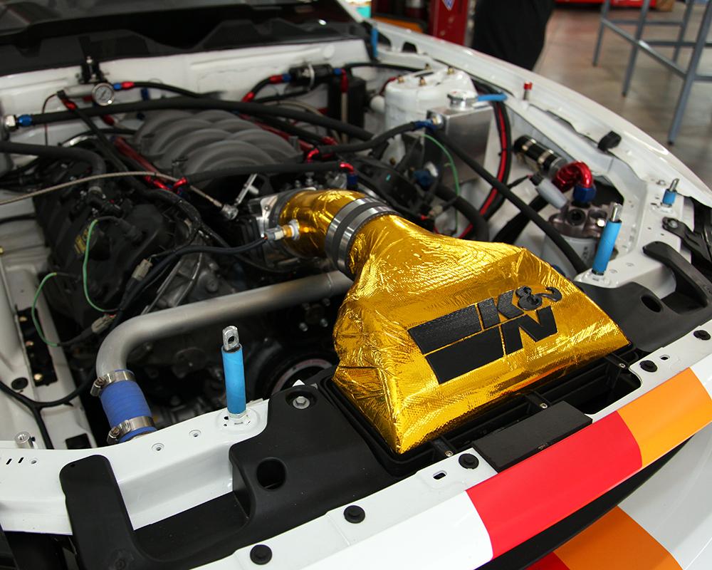Muscle Car Engine Air Cleaners : K n ford racing mustang rtr practice before nasa american