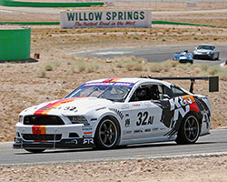 Ryan Walton practiced at Willow Springs and will be heading to Mazda Raceway Laguna Seca for the next AI race