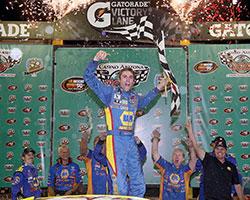 Nick Drake scores his first NASCAR K&N Pro Series victory