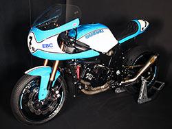 Ducati 900SS Super Sport Desmo inspired custom vintage racer