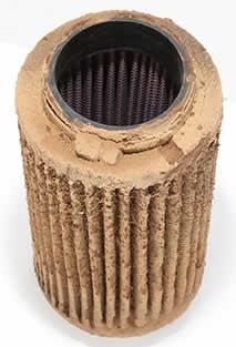 K&N Polaris Ranger RZR replacement air filter