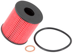 K&N Pro Series cartridge oil filter PS-7024 includes replacement gaskets and/or O-rings for Mini, Peugeot, Ford and Land Rover models where applicable