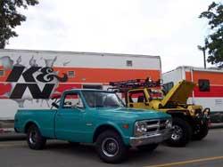 Patrick Thiele's Tara-Blue 1968 GMC Pick-up