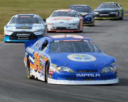 Scott Heckert at the Virginia International Raceway Biscuitville 125