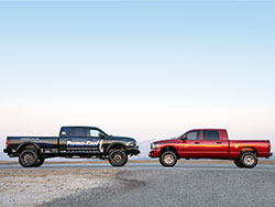 Thanks to Precision Body Lines the Perma-Cool Ram 2500 Mega Cab has a long bed