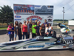 Peter Biondo won the Super Pro event at in the NHRA Summit Racing Series at Numidia Dragway in Pennsylvania over the Fourth of July weekend. He won again in Super Pro the following weekend