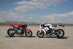 Pflum and Wagner Racing's SCTA record setting Hondas
