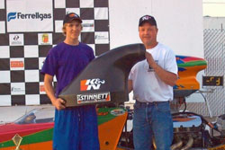 Todd Piper with his new K&N scoop.