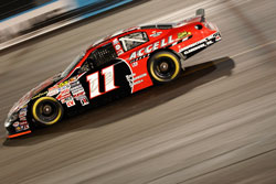 Ryan Blaney in action at the NASCAR K&N Pro Series West race in Phoenix