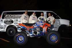 Brandon Brown and his Quad75Dezert team won the Class 24 and 2011 Overall ATV Title.