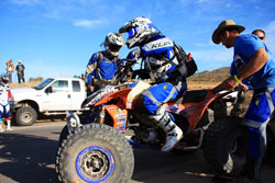 After a hard-fought battle at the Baja 500, Quad75Dezert is anticipating success throughout the remainder of 2012.