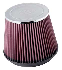 Air filter RC-5173 for the K&N air intake 57-2581 for the 2011-2014 Ford F150 5.0L V8 pickups