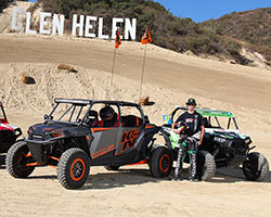 When RJ Anderson isn't racing his number 37 Pro-Lite or Pro 2 trucks in LOORS, he can be seen racing his Polaris RZR XP 1000