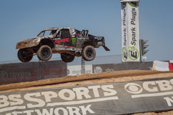 K&N sponsered RJ Anderson in his Monster Energy Polaris RZR Pro-2 Truck