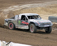 K&N off-road racer, RJ Anderson, currently competes in the Lucas Oil Off-Road Racing Series