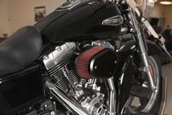 K&N RK-3932XB installed on 2016 Harley-Davidson Switchback
