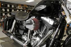 K&N RK-3932X installed on a 2016 Harley-Davidson Switchback