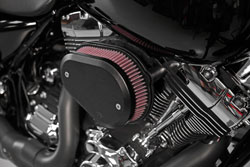 K&N RK-3947B intake installed on Harley-Davidson motorcycles