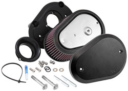 K&N RK-3947XB Air Intake System components for Harley Davidson motorcycles