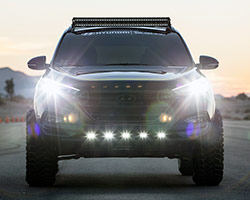 The bumper-to-bumper overhaul of the Rockstar Performance Garage 2016 Hyundai Tucson SEMA build started with the most important piece of any serious off-roader: the suspension