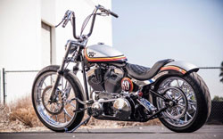 The Roland Sands K&N Custom Softail received a lot of attention at the 2013 SEMA Show