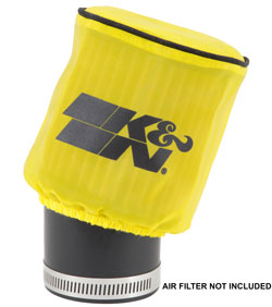 K&N Drycharger air filter pre-filter wrap number RU-1750DY is custom made to fit universal air filter number RU-1750 for an excellent fit and extended air filter cleaning intervals