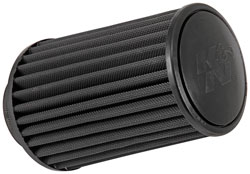 The K&N RU-3105HBK universal air filter features an oil-free synthetic media, reduces restrictions in airflow and is designed and constructed for a plethora of applications.