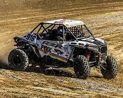 K&N sponsored Cody Rahders at the Production 1000 Lucas Oil Regional Off-Road Racing Series