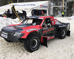 K&N driver RJ Anderson is looking to prove himself against some of the biggest names in LOORS Pro-4 truck racing