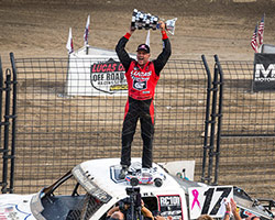 Carl Renezeder drove his K&N equipped Pro-4 truck to his third LOORRS Challenge Cup win