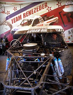 Carl Renezeder Pro 4 truck K&N air filter at 2016 Lucas Oil Off Road Racing Series