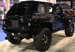 Jeep Wranger Sahara 4x4 at SEMA Event