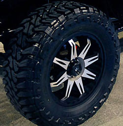 SEMA Displayed Jeep Wranger 4x4 with V-Rock 20X9 Off-Road Wheels and Nitto Mud-grapplers