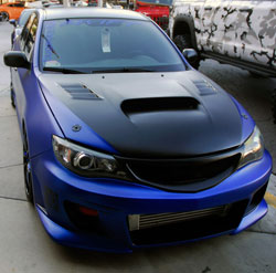 This WRX has a great combination of styling and performance